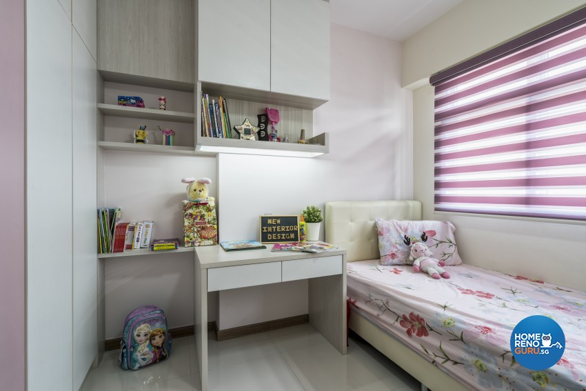 Modern Design - Bedroom - HDB 4 Room - Design by New Interior Design