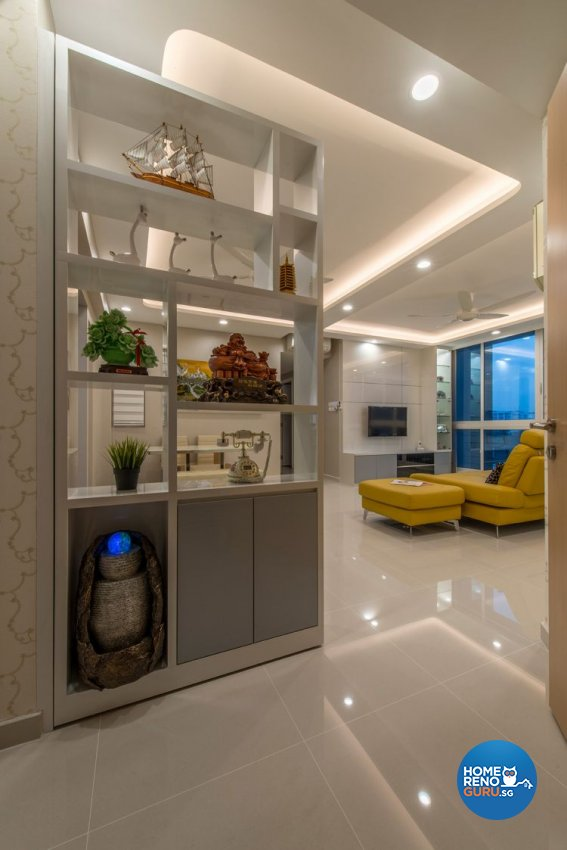 Contemporary, Modern Design - Living Room - Condominium - Design by New Interior Design