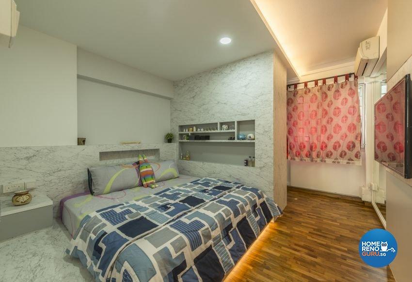 Contemporary, Modern Design - Bedroom - HDB 4 Room - Design by New Interior Design