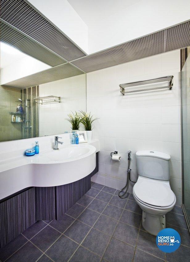 Contemporary, Modern Design - Bathroom - HDB 4 Room - Design by New Interior Design