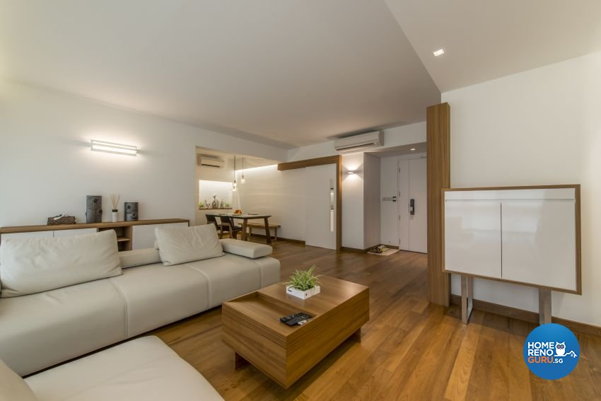 Modern Design - Living Room - HDB 5 Room - Design by New Interior Design