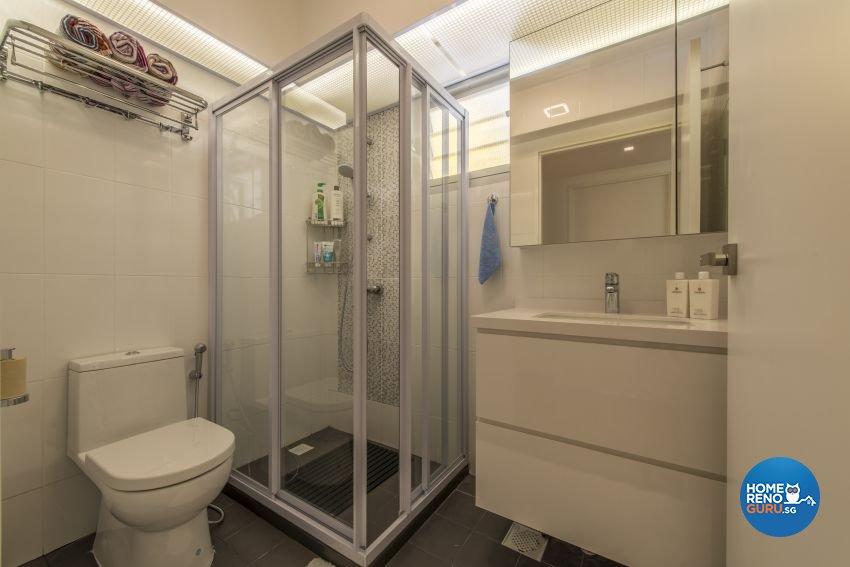 Modern Design - Bathroom - HDB 5 Room - Design by New Interior Design