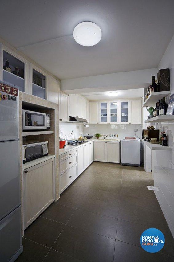 Contemporary, Retro Design - Kitchen - HDB 5 Room - Design by New Interior Design