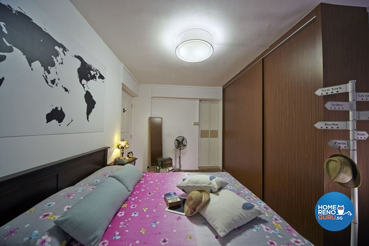 Contemporary, Retro Design - Bedroom - HDB 5 Room - Design by New Interior Design