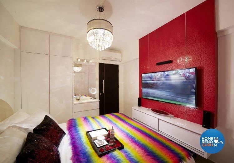 Contemporary, Modern Design - Bedroom - HDB 3 Room - Design by New Interior Design