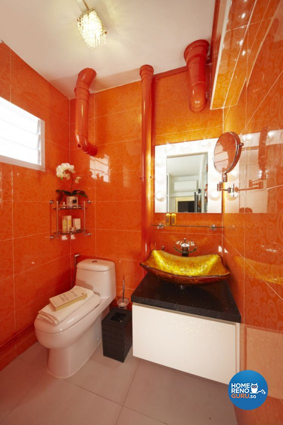 Contemporary, Modern Design - Bathroom - HDB 3 Room - Design by New Interior Design