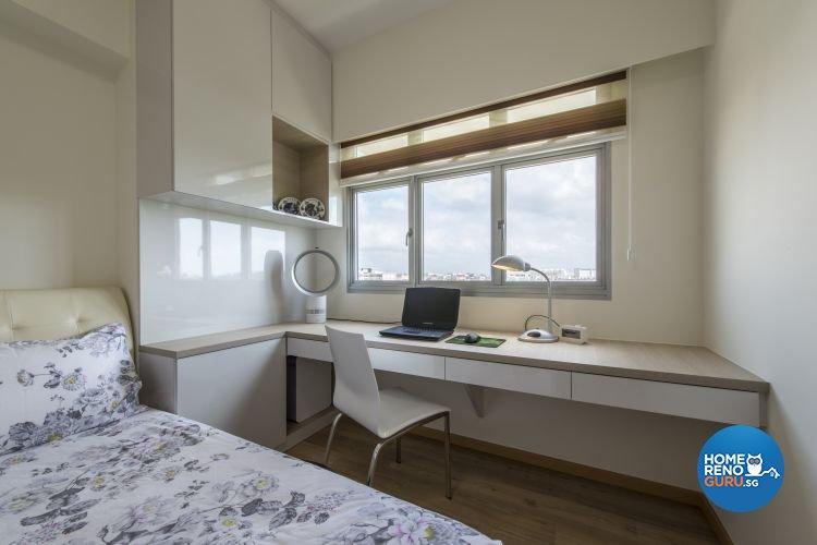 Minimalist, Modern Design - Bedroom - HDB 4 Room - Design by New Interior Design