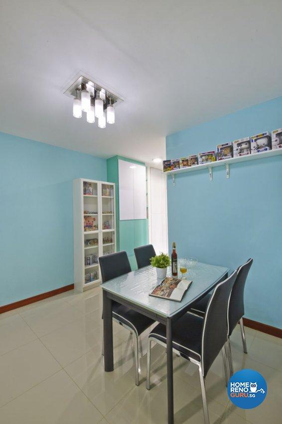Minimalist, Modern Design - Dining Room - HDB 4 Room - Design by New Interior Design