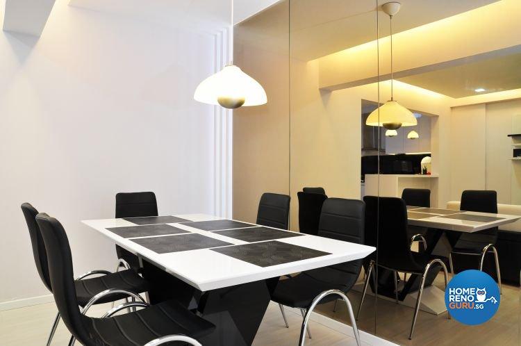 Minimalist, Modern, Scandinavian Design - Dining Room - HDB 5 Room - Design by New Interior Design