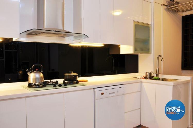Minimalist, Modern, Scandinavian Design - Kitchen - HDB 5 Room - Design by New Interior Design