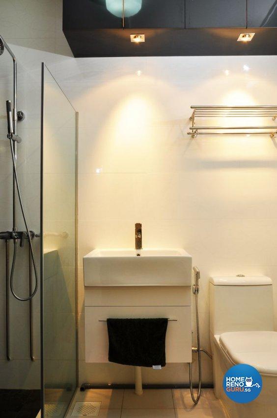 Minimalist, Modern, Scandinavian Design - Bathroom - HDB 5 Room - Design by New Interior Design