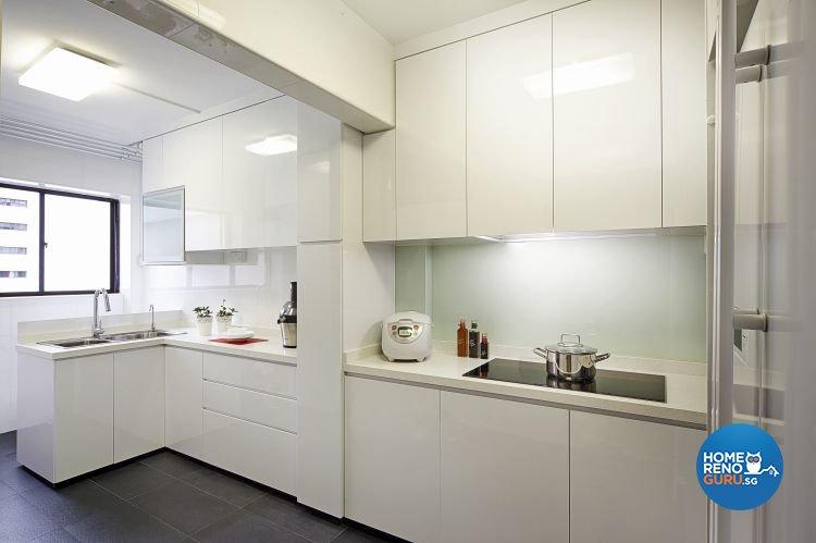 Contemporary, Minimalist, Modern Design - Kitchen - HDB 5 Room - Design by New Interior Design