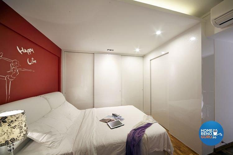 Contemporary, Minimalist, Modern Design - Bedroom - HDB 5 Room - Design by New Interior Design