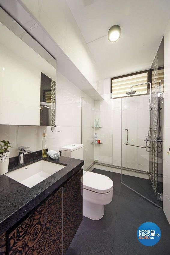 Contemporary, Minimalist, Modern Design - Bathroom - HDB 5 Room - Design by New Interior Design