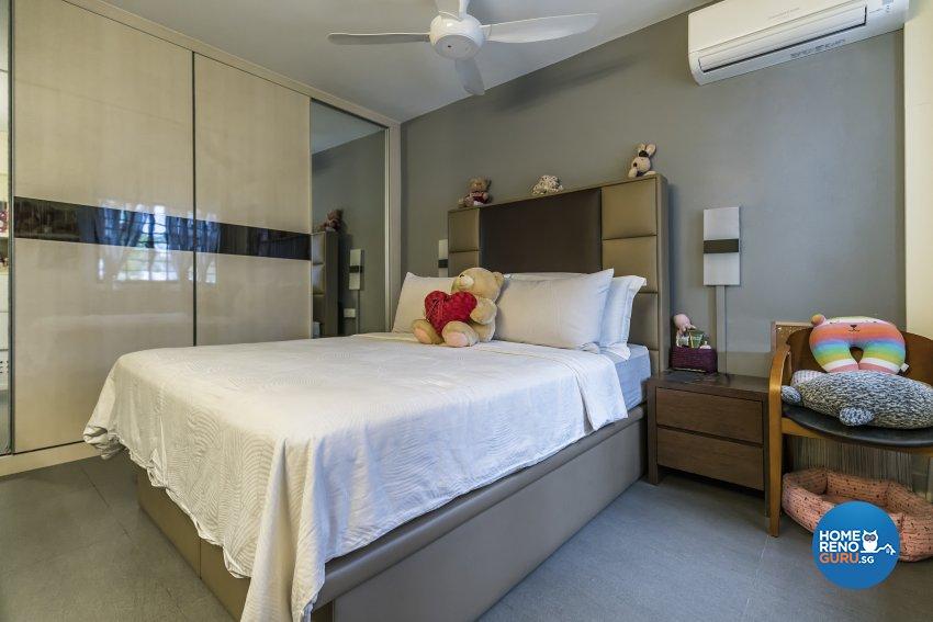 Contemporary Design - Bedroom - HDB 4 Room - Design by New Interior Design