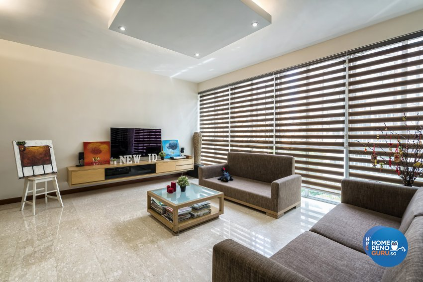 Modern Design - Living Room - Condominium - Design by New Interior Design