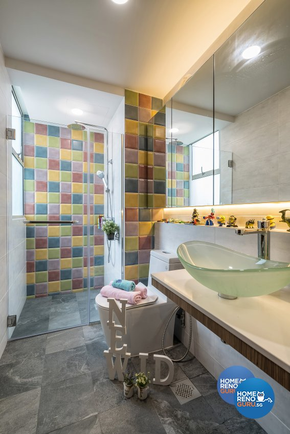 Modern Design - Bathroom - Condominium - Design by New Interior Design