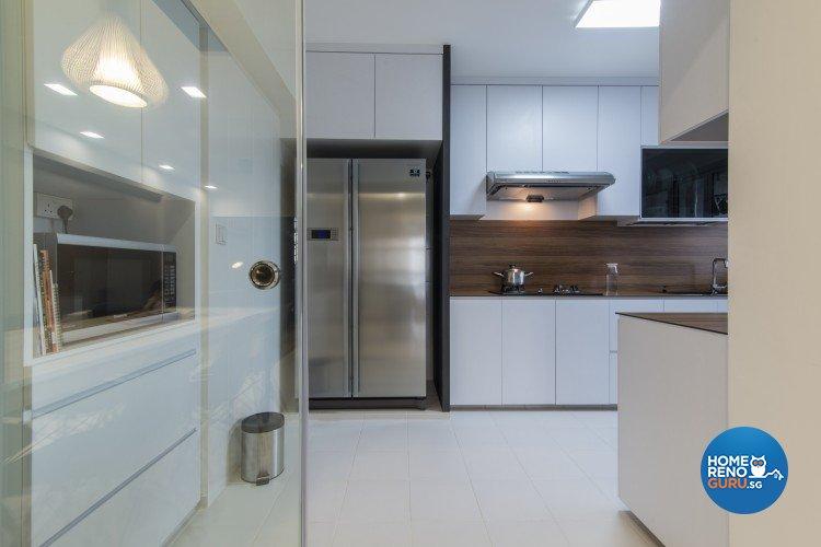 Contemporary, Minimalist Design - Kitchen - HDB 5 Room - Design by Newedge design