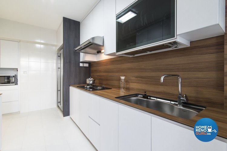 Contemporary, Minimalist Design - Kitchen - HDB 5 Room - Design by Newedge design