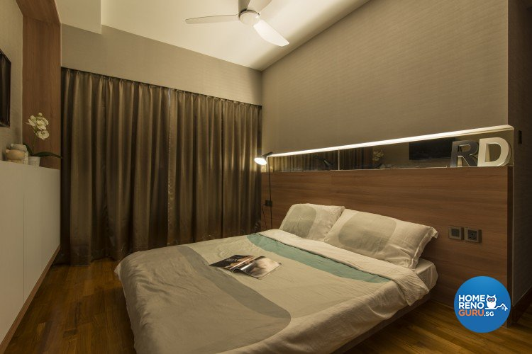 Contemporary, Minimalist Design - Bedroom - HDB 5 Room - Design by Newedge design