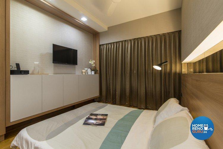 Contemporary, Minimalist Design - Bedroom - HDB 5 Room - Design by Newedge design