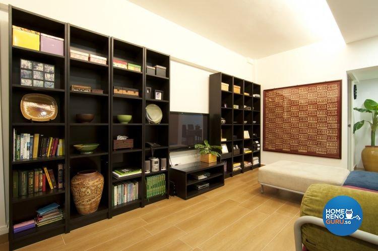 Modern, Tropical Design - Living Room - HDB 3 Room - Design by Newedge design