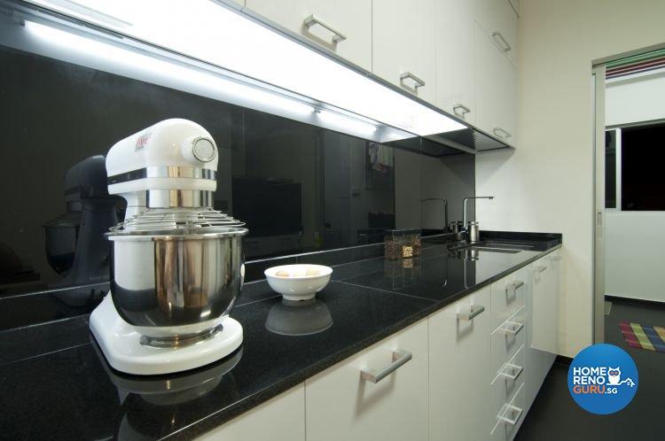 Modern, Tropical Design - Kitchen - HDB 3 Room - Design by Newedge design