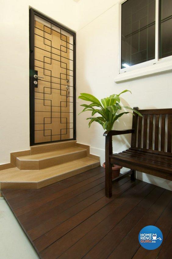 Modern, Tropical Design - Garden - HDB 3 Room - Design by Newedge design