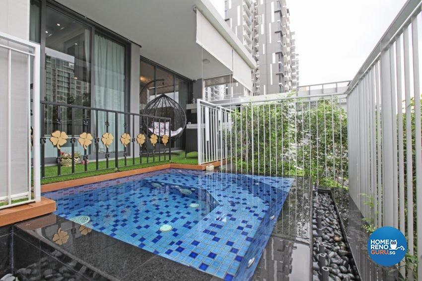 Scandinavian Design - Balcony - Condominium - Design by NextDoor ID Pte Ltd