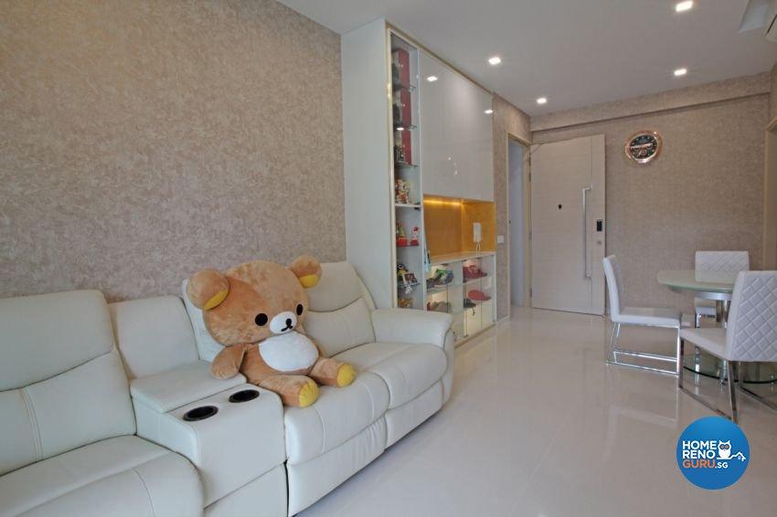 Scandinavian Design - Living Room - Condominium - Design by NextDoor ID Pte Ltd