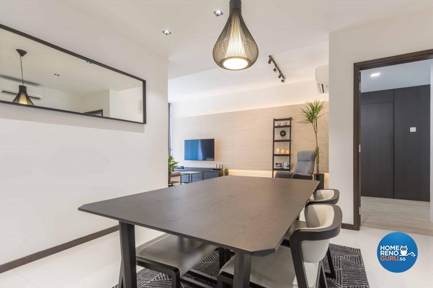 Resort Design - Dining Room - Condominium - Design by NID Design Group