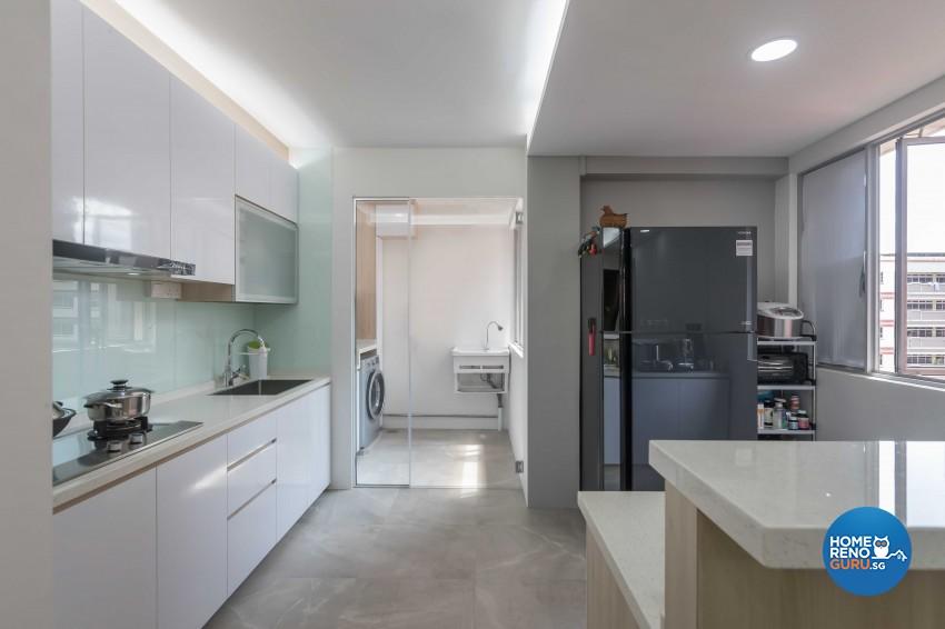 Modern Design - Kitchen - HDB 5 Room - Design by NID Interior