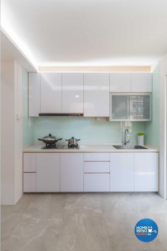 Modern Design - Kitchen - HDB 5 Room - Design by NID Design Group