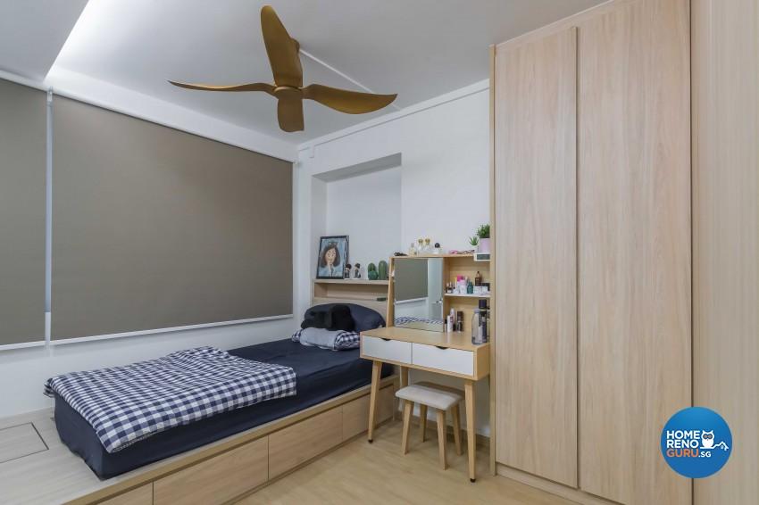 Modern Design - Bedroom - HDB 5 Room - Design by NID Design Group