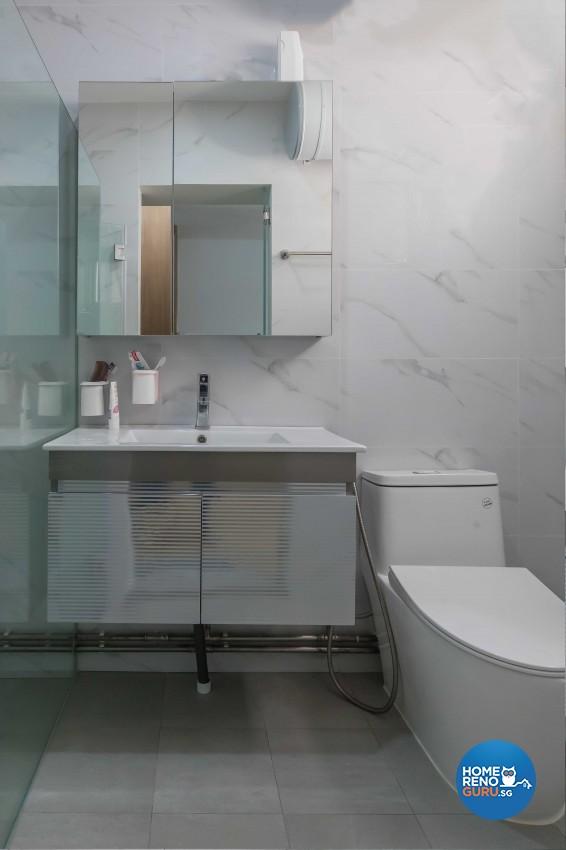 Modern Design - Bathroom - HDB 5 Room - Design by NID Interior