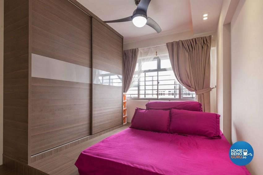 Modern Design - Bedroom - HDB 4 Room - Design by NID Design Group