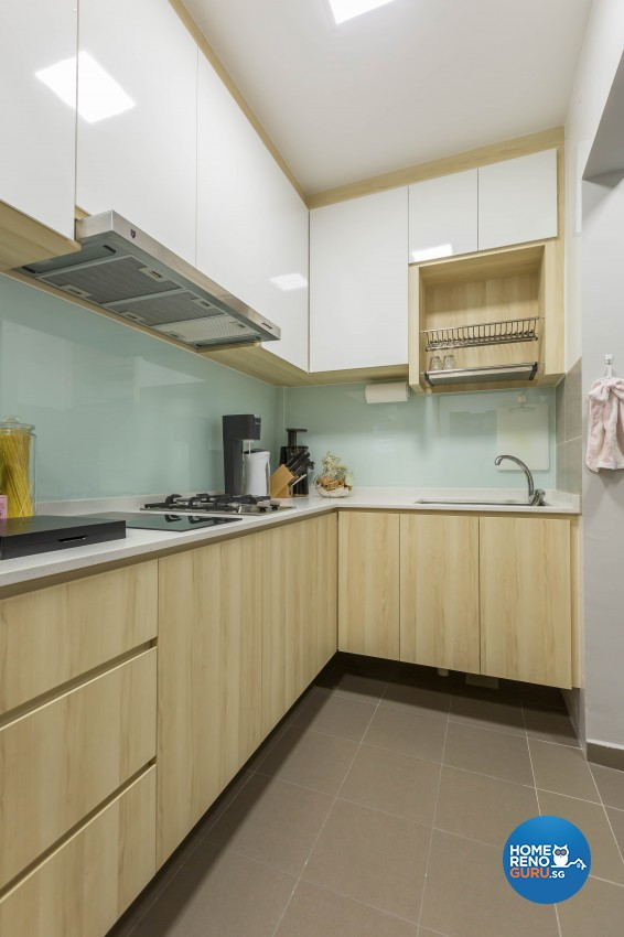 Modern Design - Kitchen - HDB 3 Room - Design by NID Interior
