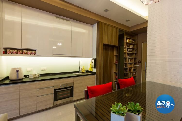 Contemporary, Modern Design - Kitchen - Others - Design by NID Design Studio Pte Ltd