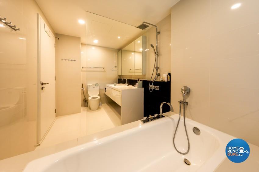 Modern Design - Bathroom - Condominium - Design by NID Interior