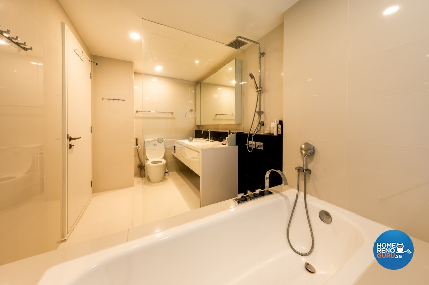 Modern Design - Bathroom - Condominium - Design by NID Design Group
