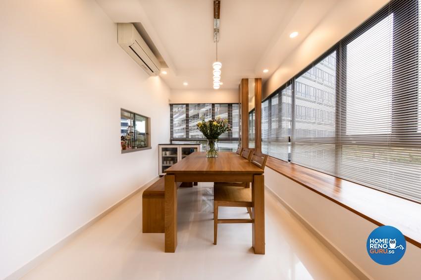 Modern Design - Dining Room - Condominium - Design by NID Interior