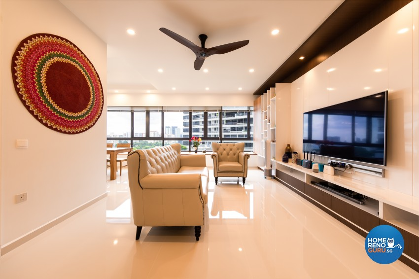 Modern Design - Living Room - Condominium - Design by NID Design Group