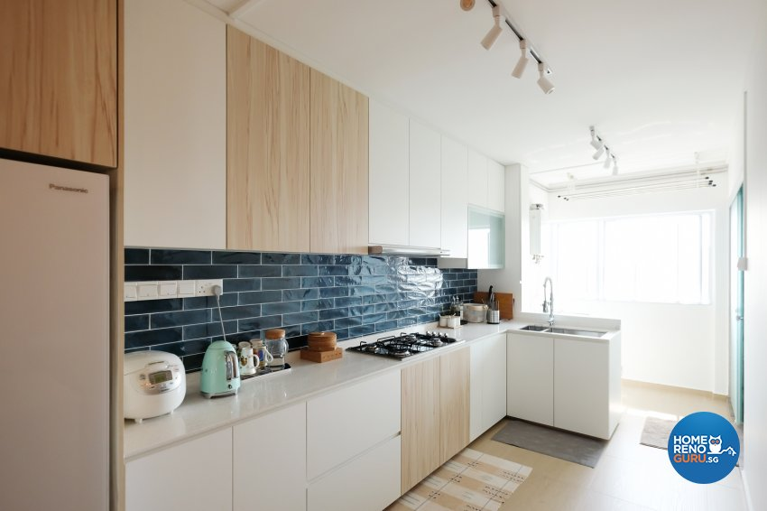Contemporary, Eclectic, Modern Design - Kitchen - HDB 4 Room - Design by Nitty Gritty Interior Pte Ltd