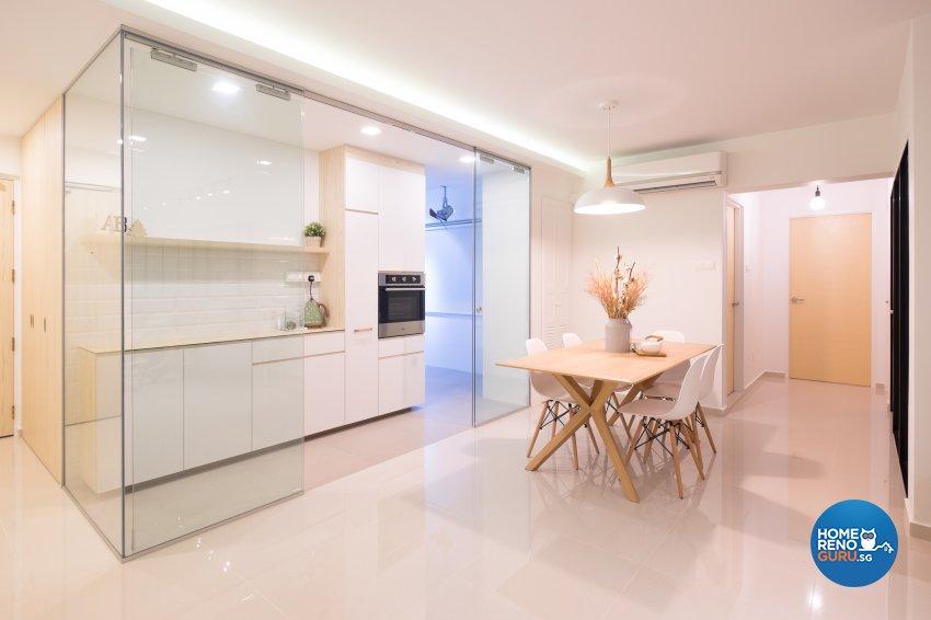 Minimalist Design - Kitchen - HDB 5 Room - Design by Nitty Gritty Interior Pte Ltd