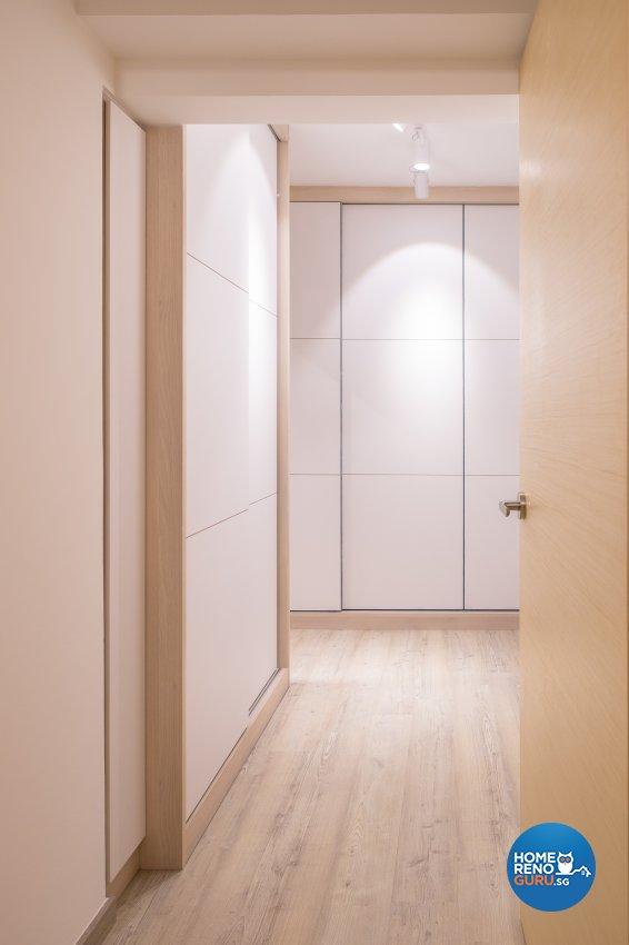 Minimalist Design - Bedroom - HDB 5 Room - Design by Nitty Gritty Interior Pte Ltd