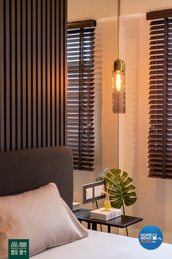 Modern Design - Bedroom - HDB 4 Room - Design by Noble Interior Design Pte Ltd