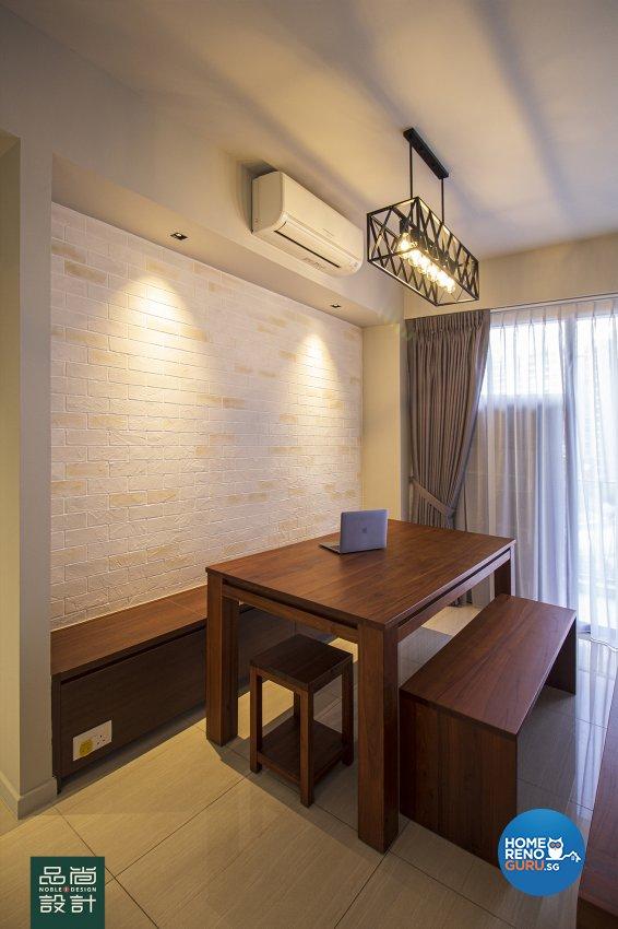 Scandinavian Design - Dining Room - Condominium - Design by Noble Interior Design Pte Ltd