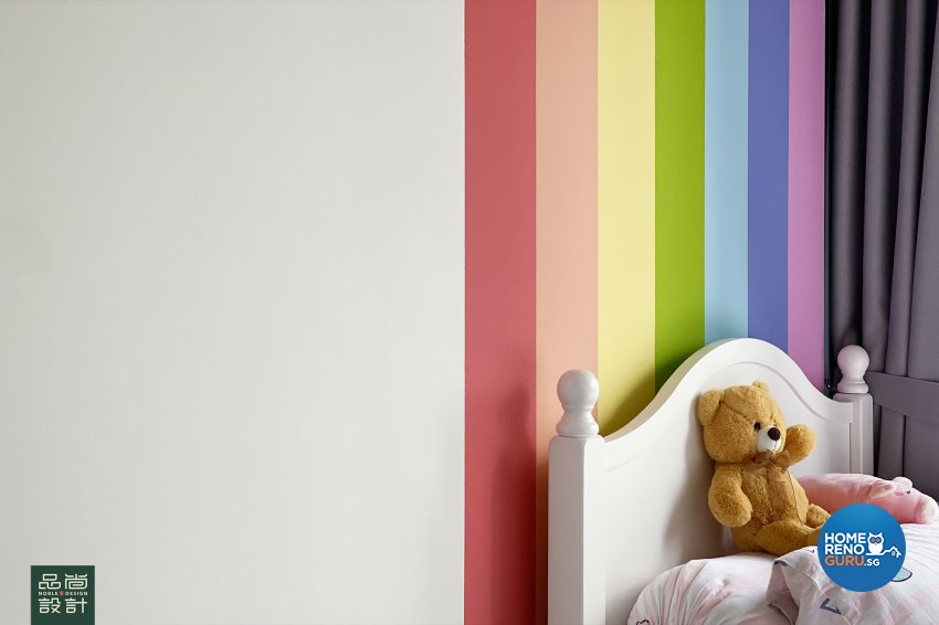 Scandinavian Design - Bedroom - Condominium - Design by Noble Interior Design Pte Ltd