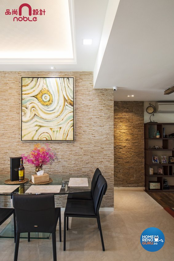 Resort Design - Living Room - Condominium - Design by Noble Interior Design Pte Ltd