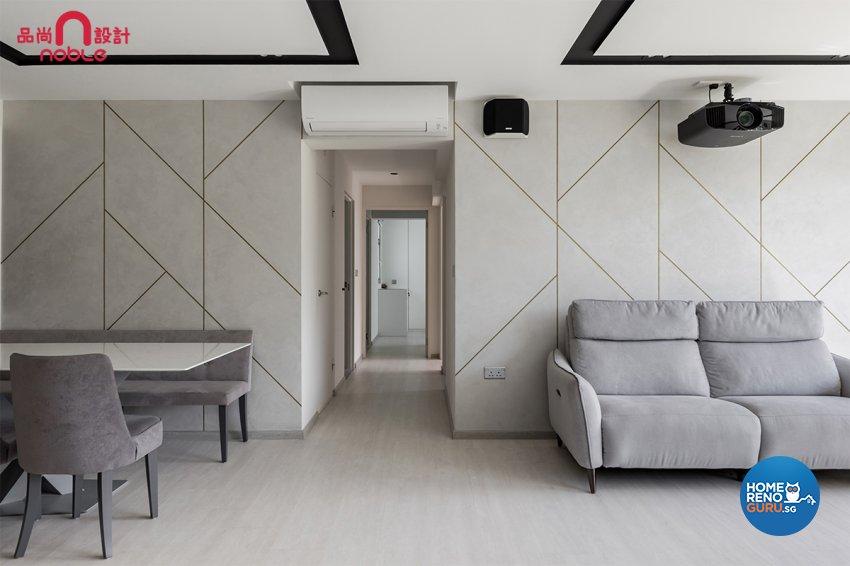 Noble Interior Design Pte Ltd-HDB 4-Room package